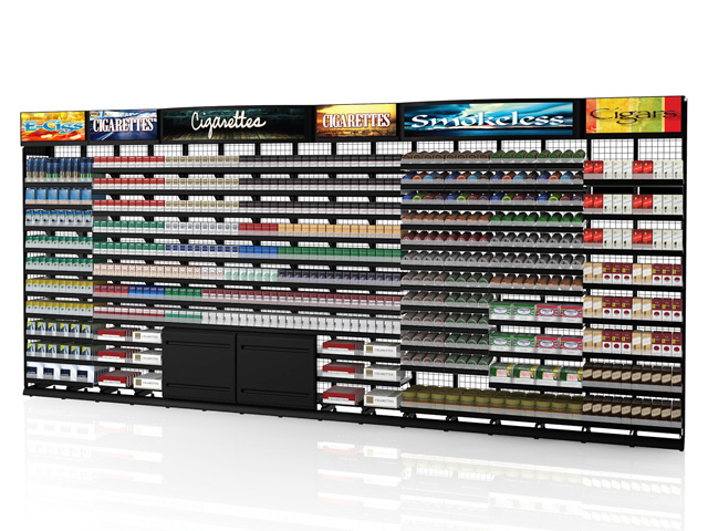 16ft Standard Height Tobacco Fixture