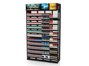 Tobacco Merchandiser 4ft Standard Height 2