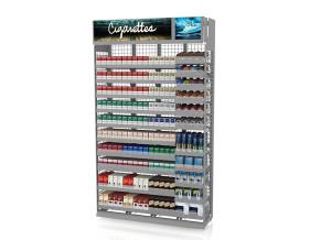 Tobacco Merchandiser 4ft Standard Height